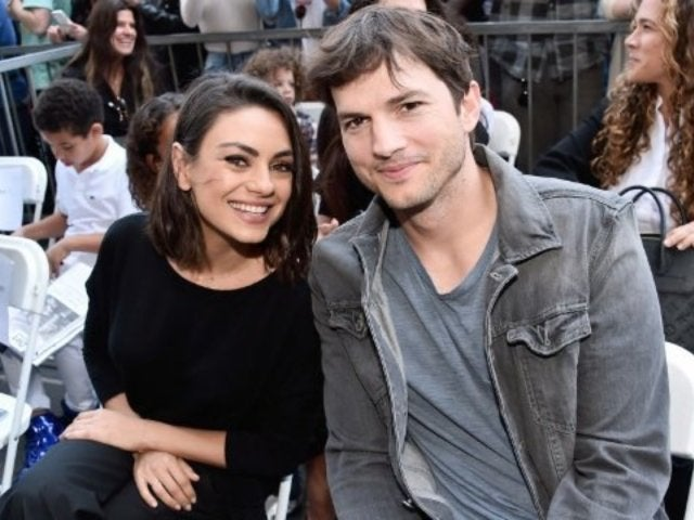 Ashton Kutcher Bonds With Wife Mila Kunis and Children After 'The Ranch' Part 6 Premiere