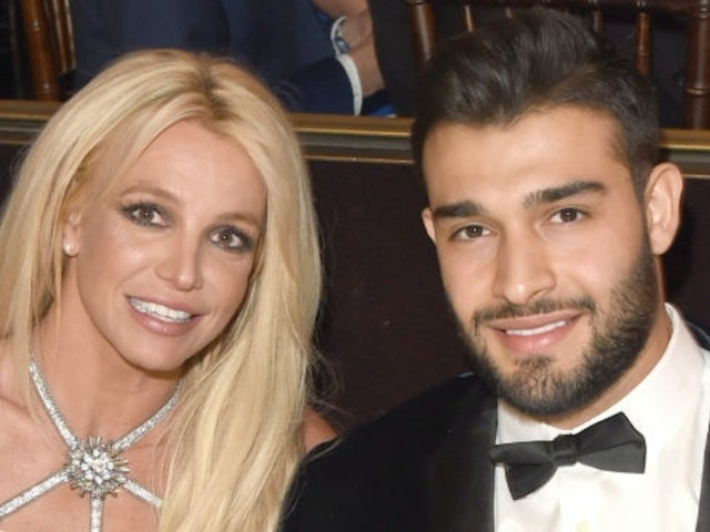 Britney Spears' Boyfriend Sam Asghari Throws Shade at Christina Aguilera