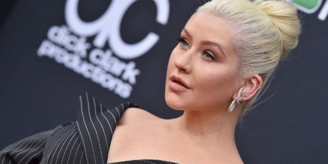 christina aguilera getty images