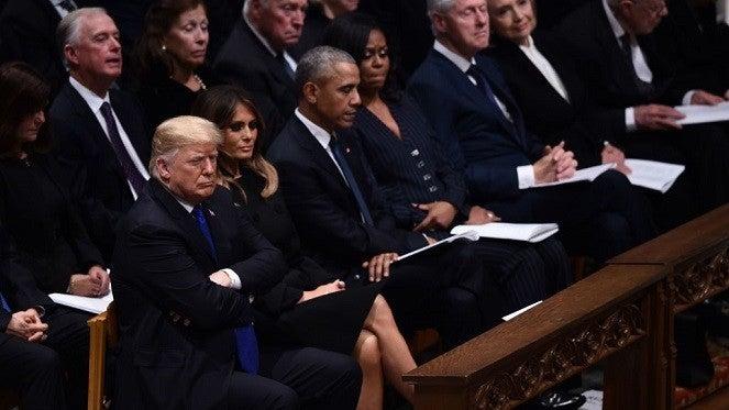 donald-trump-george-hw-bush-funeral-getty