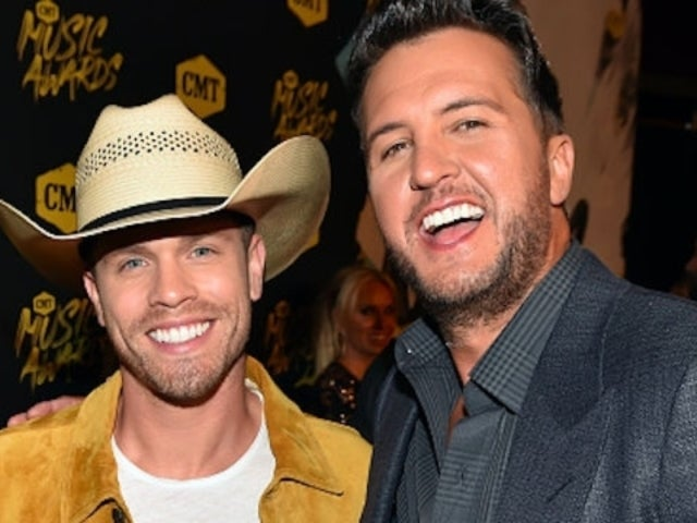 Dustin Lynch Refuses to Open Generous Present From Luke Bryan