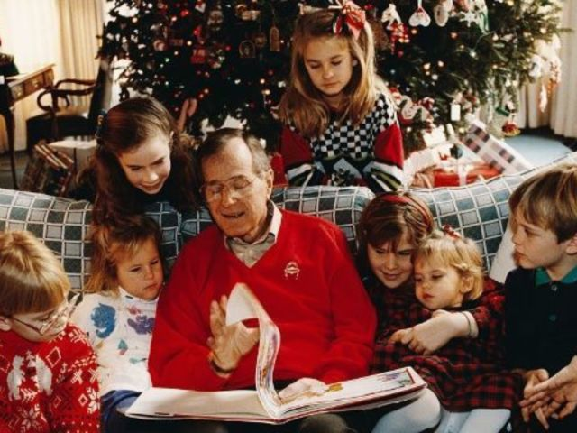 Barbara Bush Says George H.W. Bush Wanted to Die Before Christmas So He Could Be With Late Wife