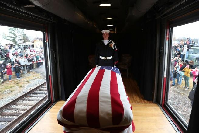 george hw bush funeral getty images 3