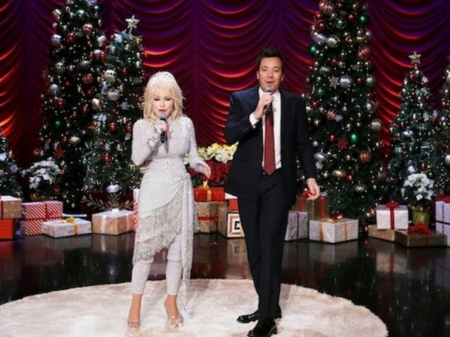 Dolly Parton and Jimmy Fallon Blunder 'Tonight Show' Christmas Medley With Hilarious Results