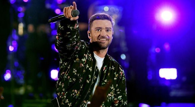 justin timberlake performance getty images
