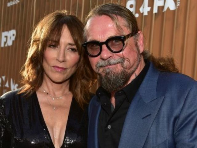 Katey Sagal Posts Rare Snap of 'Sons of Anarchy' Creator Husband Kurt Sutter With Their Daughter