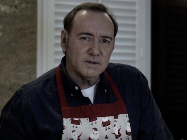 Kevin Spacey Spotted Watching TV Coverage of His Own Scandal