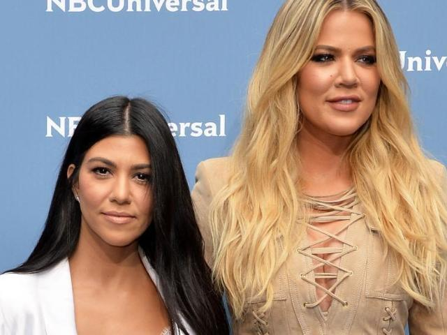 Khloe Kardashian Reveals Booty 'View' of Sister Kourtney While Working Out