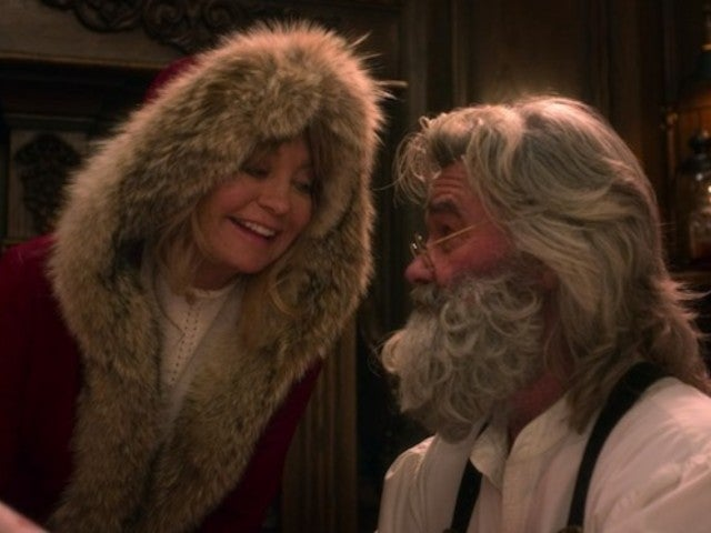 'Christmas Chronicles': Kurt Russell and Goldie Hawn Reunite On-Screen for First Time Since 1987