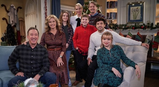 last man standing holiday family photo fox