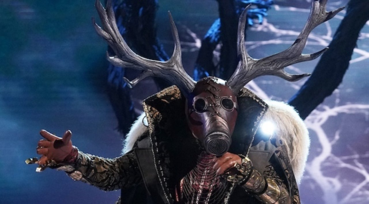 Image result for the masked singer unicorn Deer