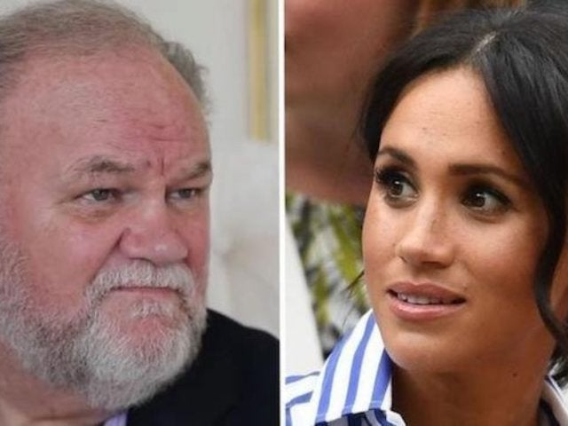 Meghan Markle and Prince Harry Reportedly Intervened When Queen Elizabeth Wanted to Stop Thomas Markle