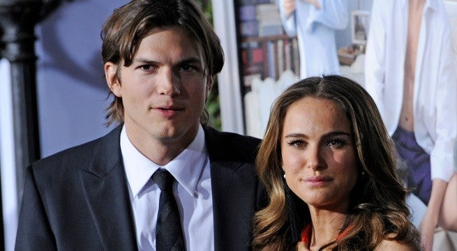 natalie portman ashton kutcher getty images