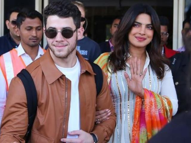 Priyanka Chopra and Nick Jonas Share Images From the First Day of Their Wedding Celebrations