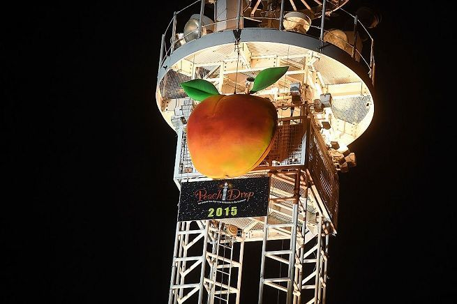 peach drop getty images