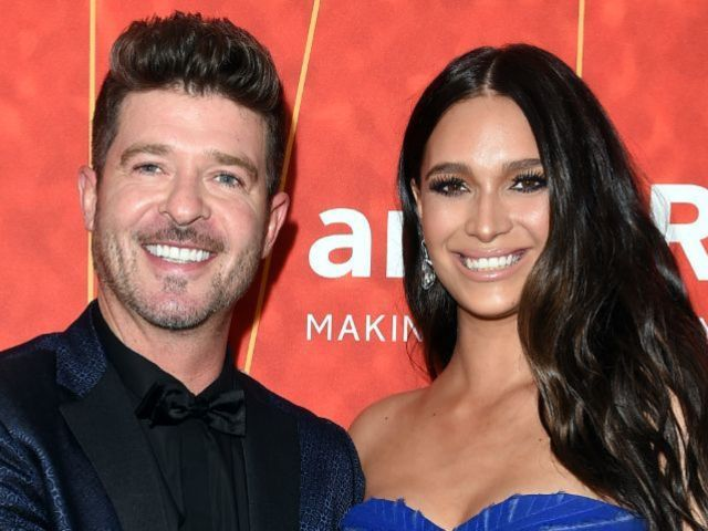 'The Masked Singer' Judge Robin Thicke Welcomes Second Child With April Love Geary