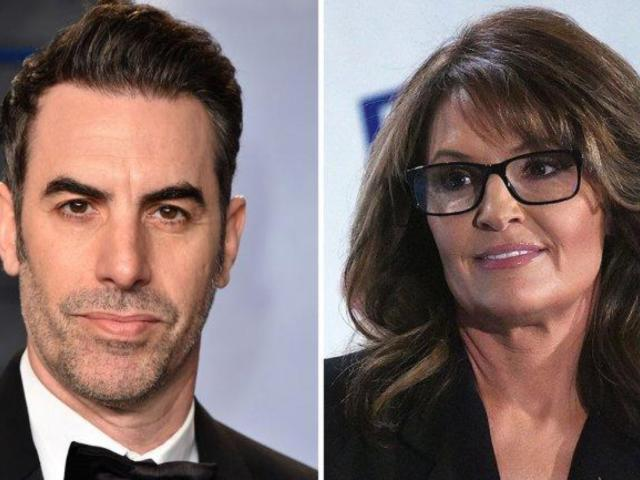 'Who Is America' Star Sacha Baron Cohen Makes Cheeky Request to Sarah Palin Ahead of Golden Globes