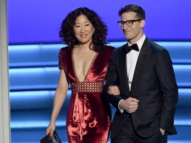 Andy Samberg Says He Burst Into Tears When Golden Globes Co-Host Sandra Oh Won