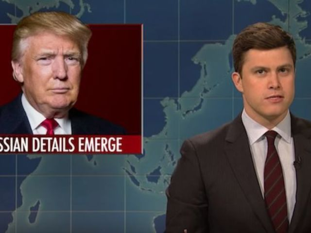 'SNL' Rips Donald Trump's Latest Scandals During 'Weekend Update'