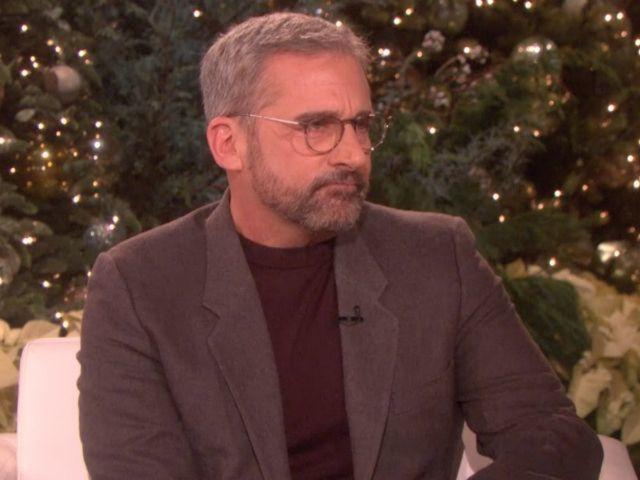 'Ellen': Steve Carell Reveals He Was Struck by Fan's Car