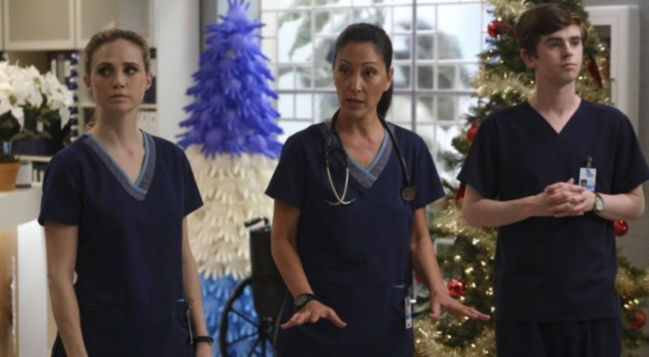Image result for the good doctor dr lim and morgan