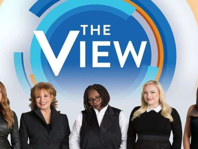 'The View' Unveils 'Big A— Table' During Show Amid Coronavirus Pandemic