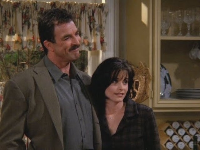 Courteney Cox and Tom Selleck Give Fans the 'Friends' Reunion of Their Dreams During NYC Run-in