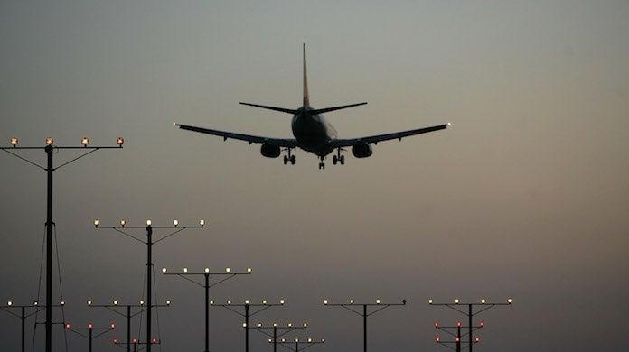 airplane-getty-David McNew : Staff