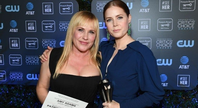 Amy Adams Patricia Arquette Getty Images