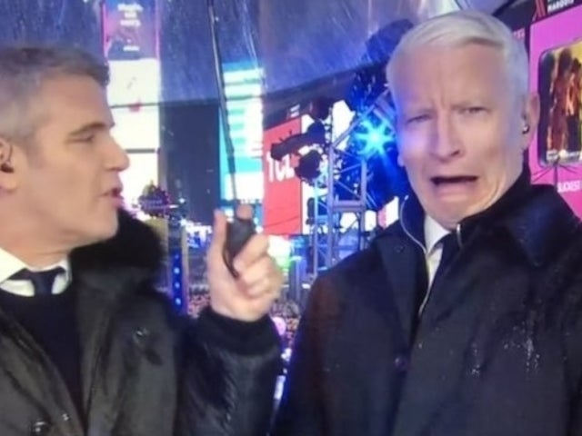 Twitter Laughs as Anderson Cooper Epically Struggles With Tequila Shot on New Year's Eve