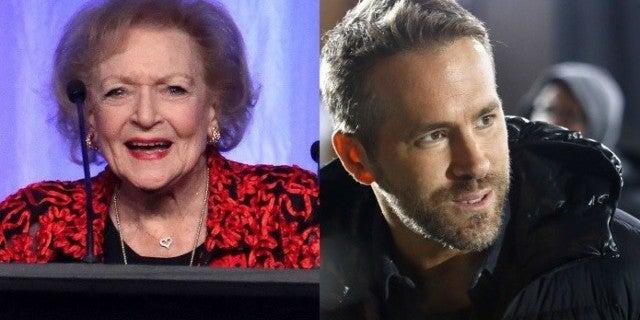 Ryan Reynolds Wishes 'Ex-Girlfriend' Betty White Happy Birthday in Hilarious Message