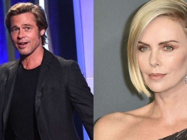 Rumors Swirl of Brad Pitt and Charlize Theron Possibly Dating