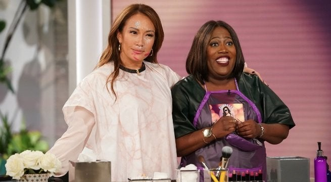 carrie ann inaba sheryl underwood cbs