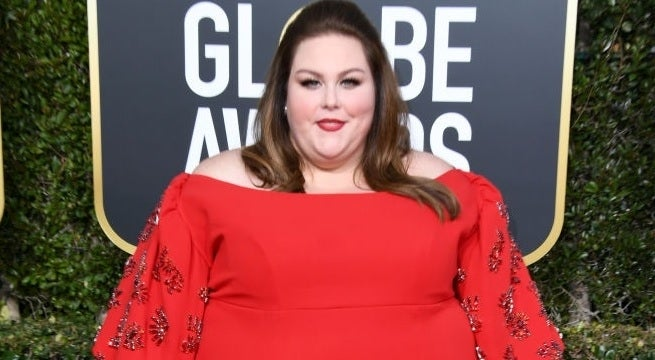 chrissy metz golden globes getty images
