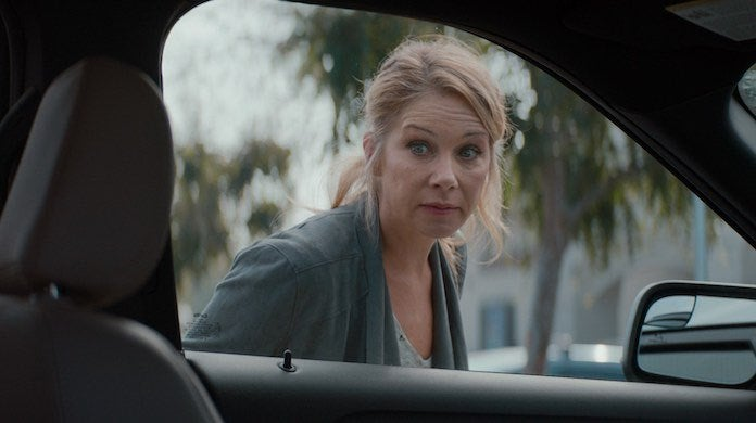 Christina Applegate in SB commercial