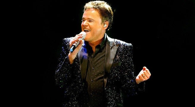 donny osmond getty images 2