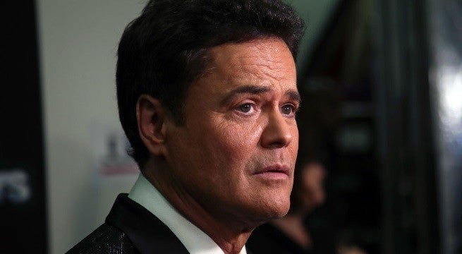 donny osmond getty images