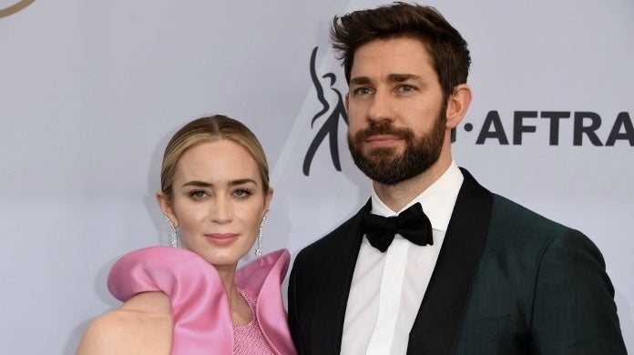 emily blunt john krasinski sag awards getty images