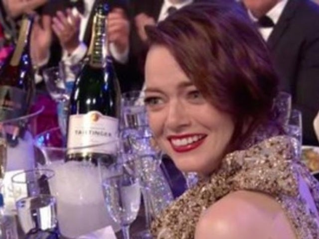 SAG Awards 2019 Host Megan Mullally Jokingly Shares Condolences to Emma Stone in Monologue
