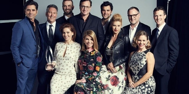 fuller house cast getty images