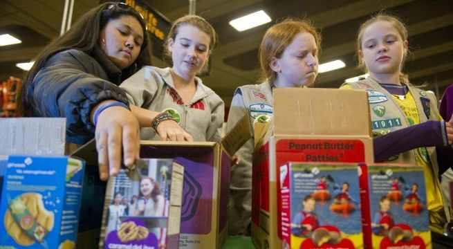 girl scouts getty images