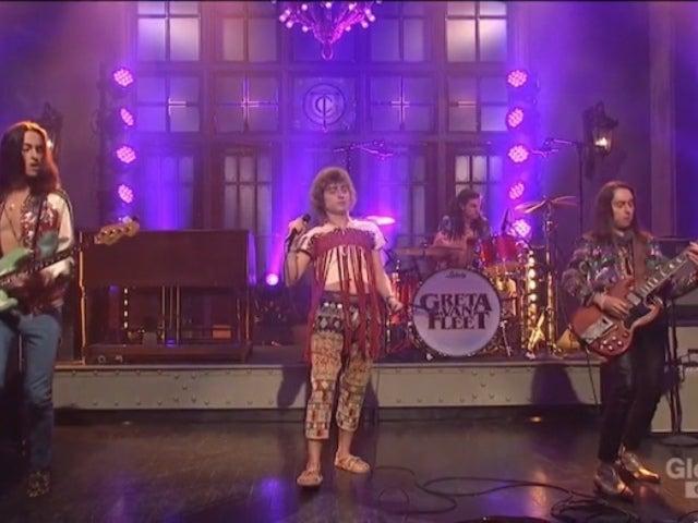 'SNL': Greta Van Fleet Performances Leave Social Media Talking