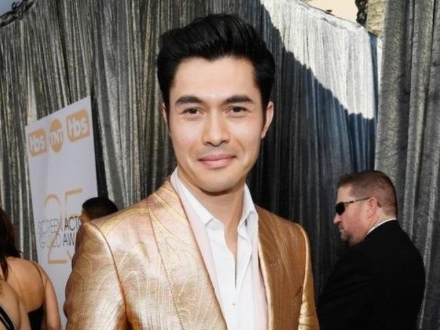 SAG Awards 2019: 'Crazy Rich Asians' Star Henry Golding's Golden Look Turns Heads