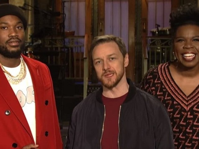 'SNL': Leslie Jones Gets Heated in New Clip With James McAvoy and Meek Mill