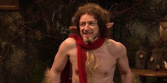 'SNL': James McAvoy Re...