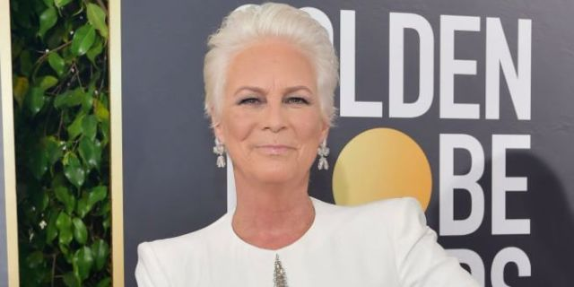 Jamie Lee Curtis Rants About Fiji Water Girl Photobombing Her on Golden Globes Red Carpet: 'Get Permission'