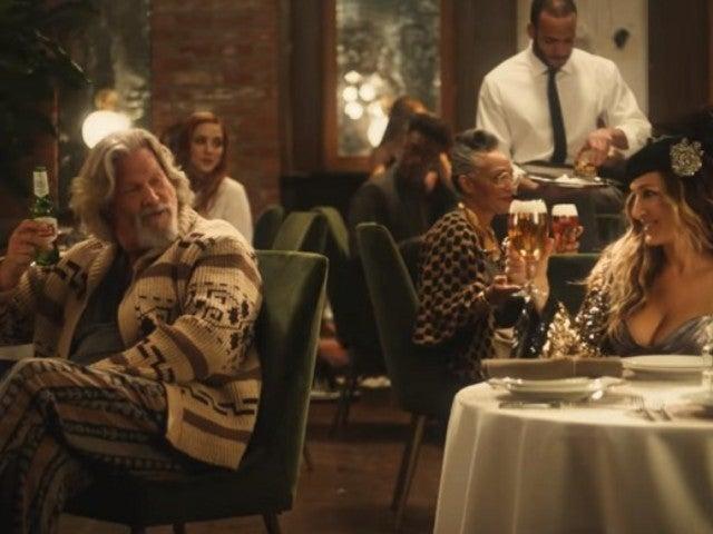 Jeff Bridges' 'Big Lebowski' Character The Dude Meets Sarah Jessica Parker in Super Bowl Commercial