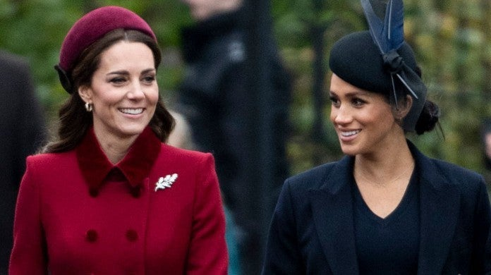 kate middleton meghan markle getty images christmas