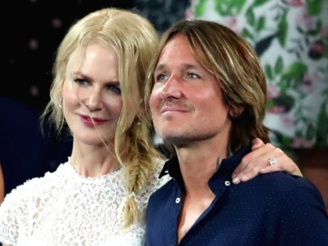 Nicole Kidman and Keith Urban Cuddle up at Australian Open