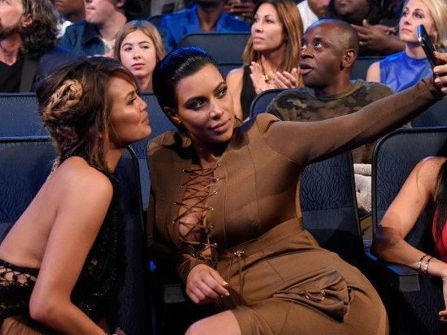 Chrissy Teigen Roasts Kim Kardashian About 'Bird Box' Question